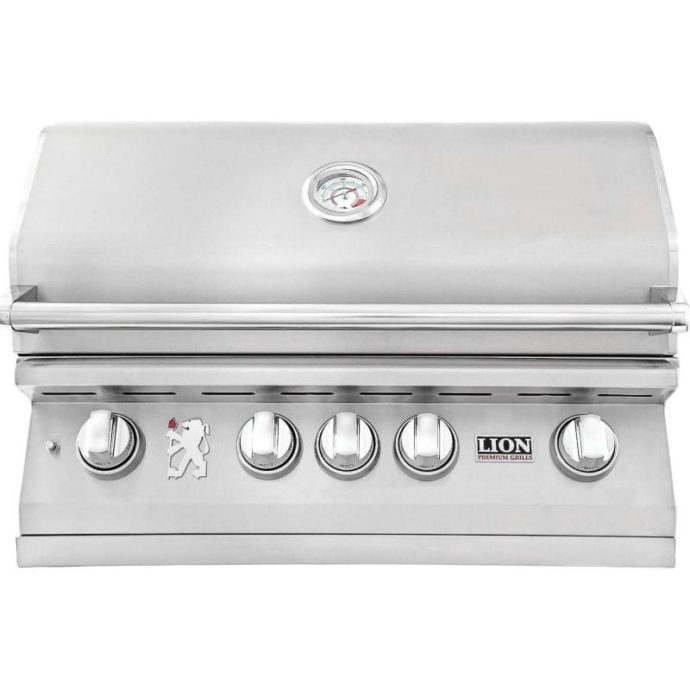 32-Inch Stainless Steel Built-In Propane Gas Grill