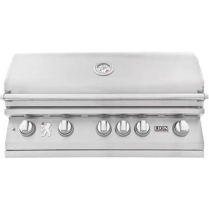 40-Inch Stainless Steel Built-In Propane Gas Grill